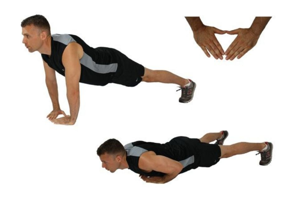 diamond-pushups